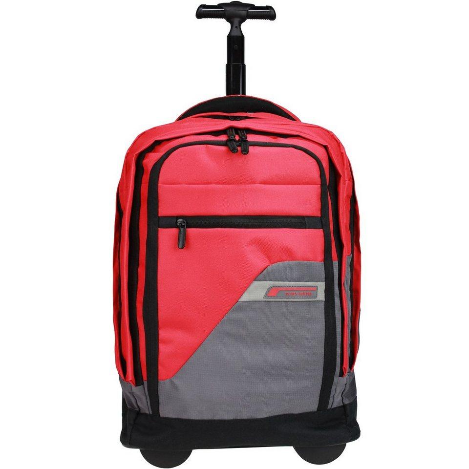 Travelite Kick-Off Rucksack-Trolley 50 cm Laptopfach in rot