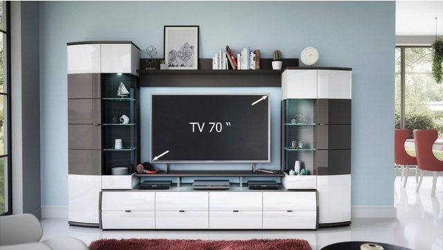 Wohnwände - Wohnwand »Trendy«, (Set, 4 tlg)  - Onlineshop OTTO