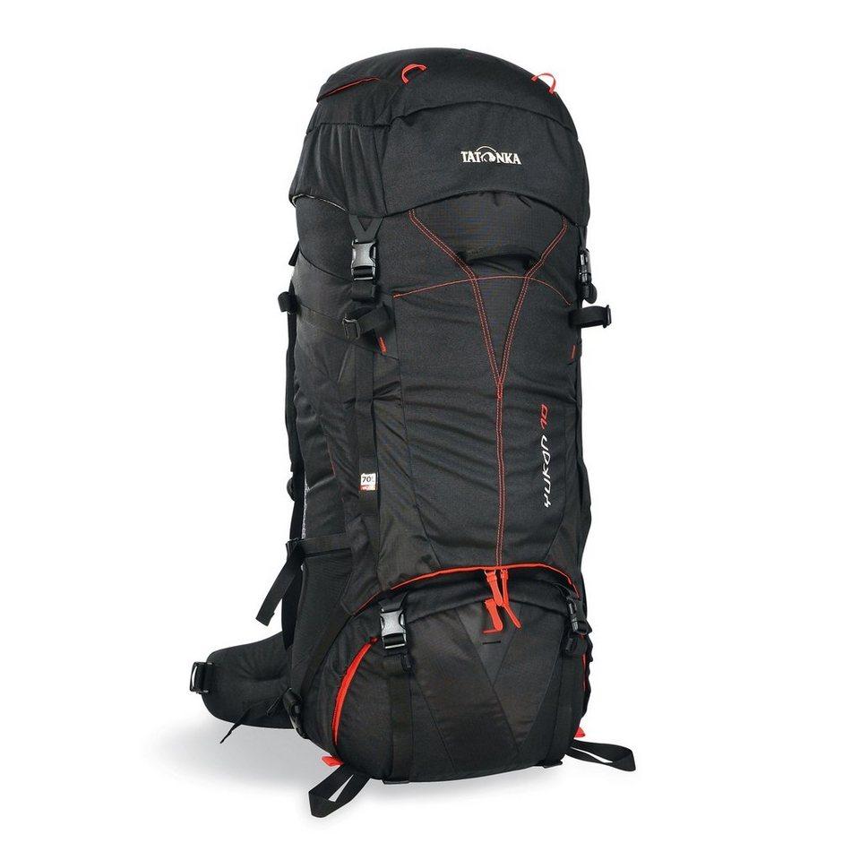 Tatonka Sport- und Freizeittasche »Yukon 70 Backpack« in schwarz