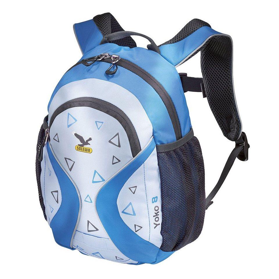 Salewa Sport- und Freizeittasche »Yoko 8 Daypack Kids« in blau