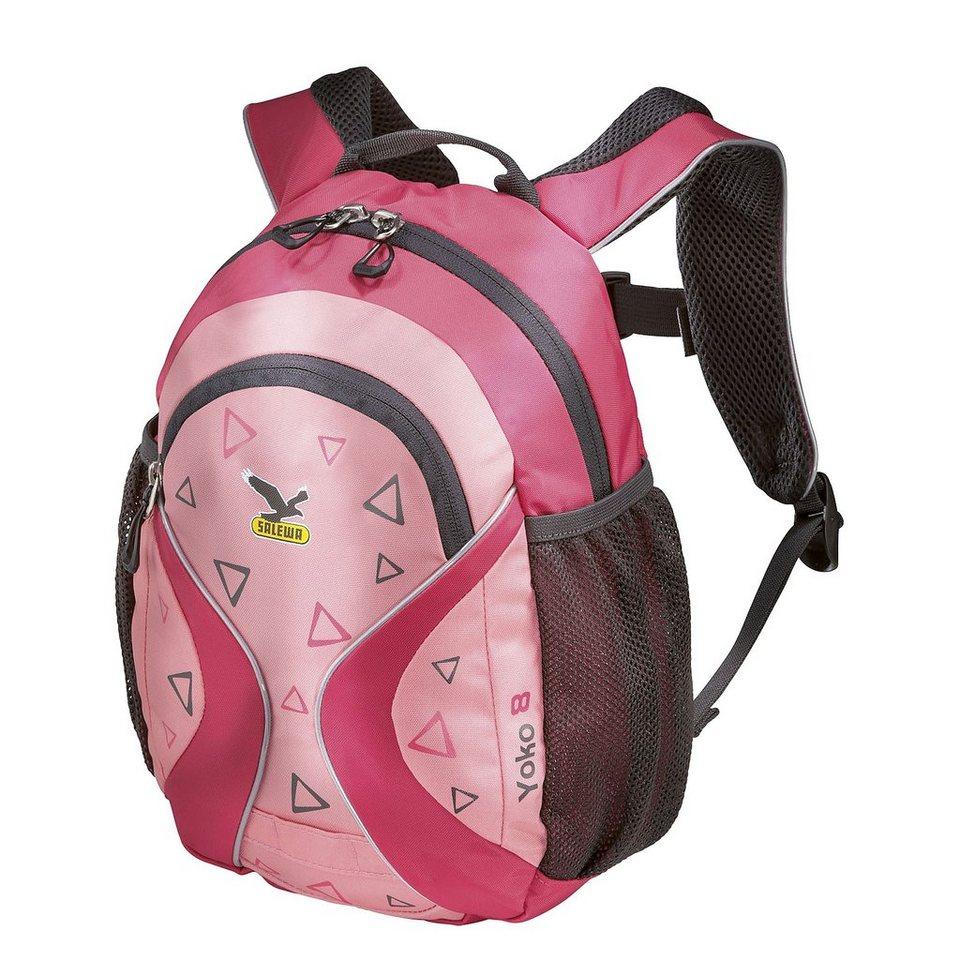 Salewa Sport- und Freizeittasche »Yoko 8 Daypack Kids« in pink