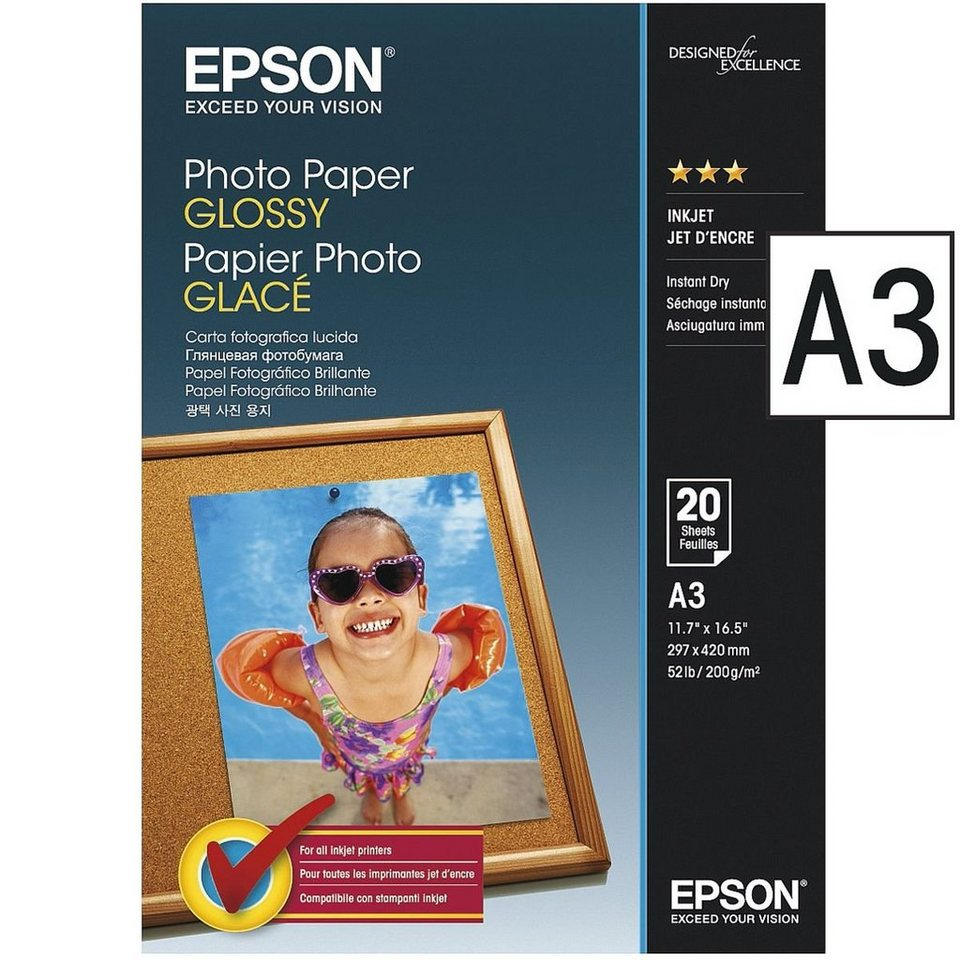 Epson Fotopapier »Photo Paper Glossy« in 0000020080