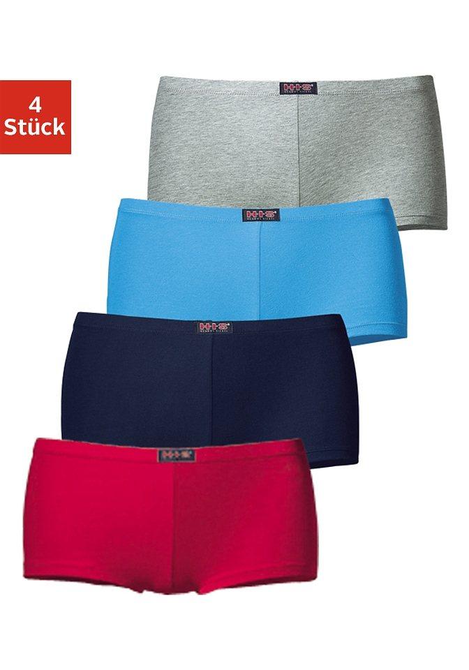 H.I.S bequeme Panties (4 Stück), Größe 40-58 in farblich sortiert