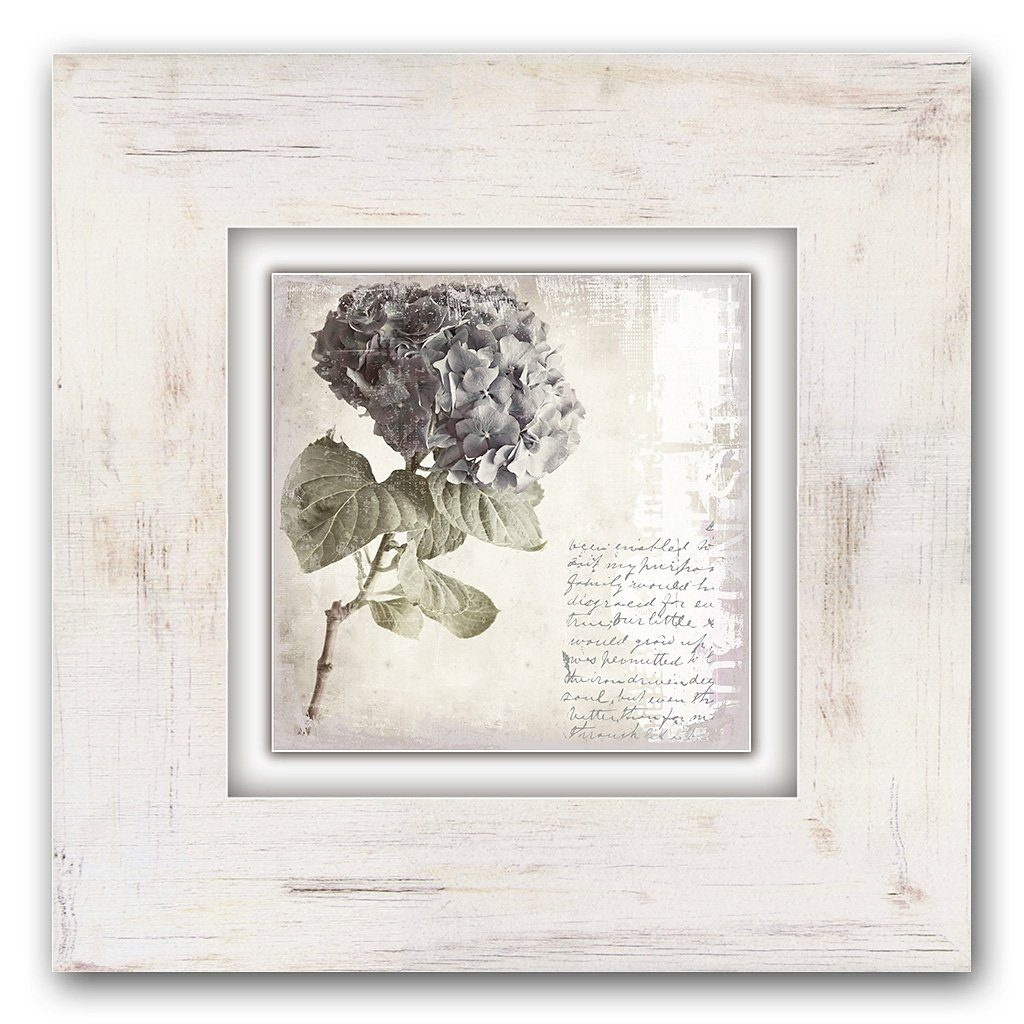 Holzbild, Home affaire, »Lila Blume«, 40/40 cm