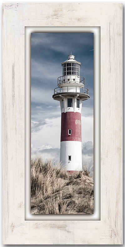 Home affaire Holzbild »Leuchtturm«, maritim, 40/80 cm
