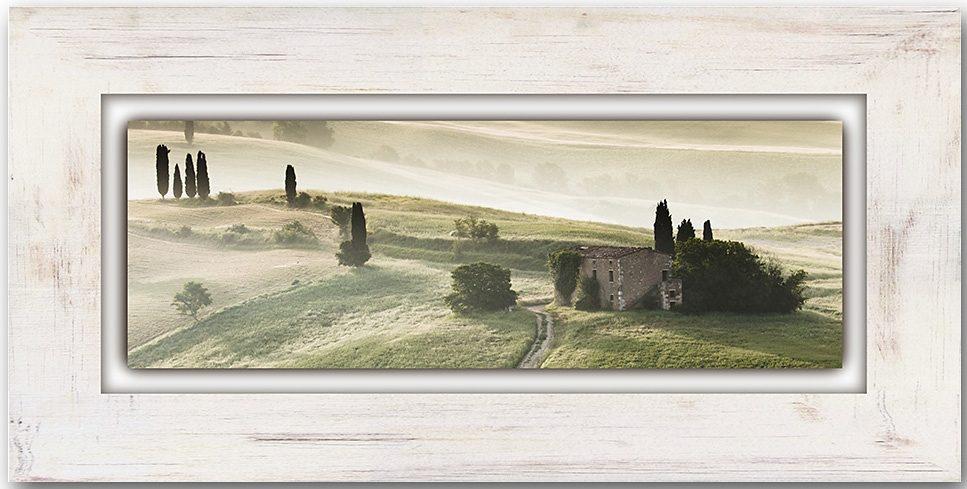 Holzbild, Home affaire, »Toskana«, 80/40 cm