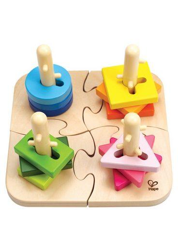 Hape Steckspielzeug, (Set, 16-tlg)