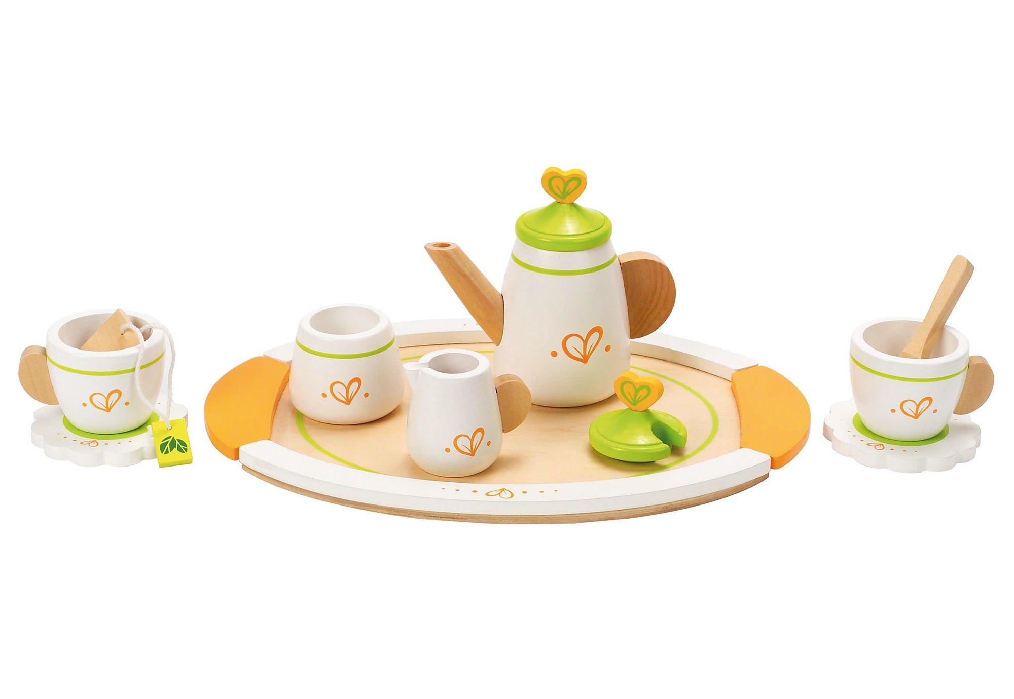 Hape Zubehör für die Kinderküche »Teeservice für zwei« 12-tlg.
