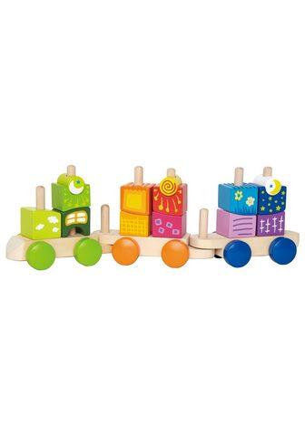 HAPE Spielzeug-Eisenbahn (Rinkinys 17-tlg.)...