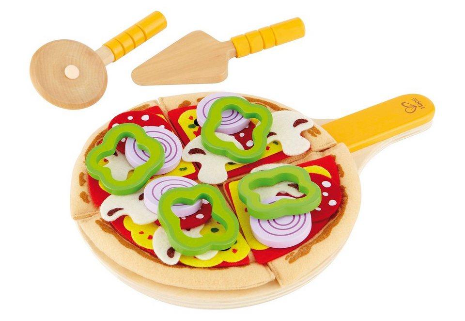Hape Set: Lebensmittel aus Holz, »Pizza Set«, (31tlg.)