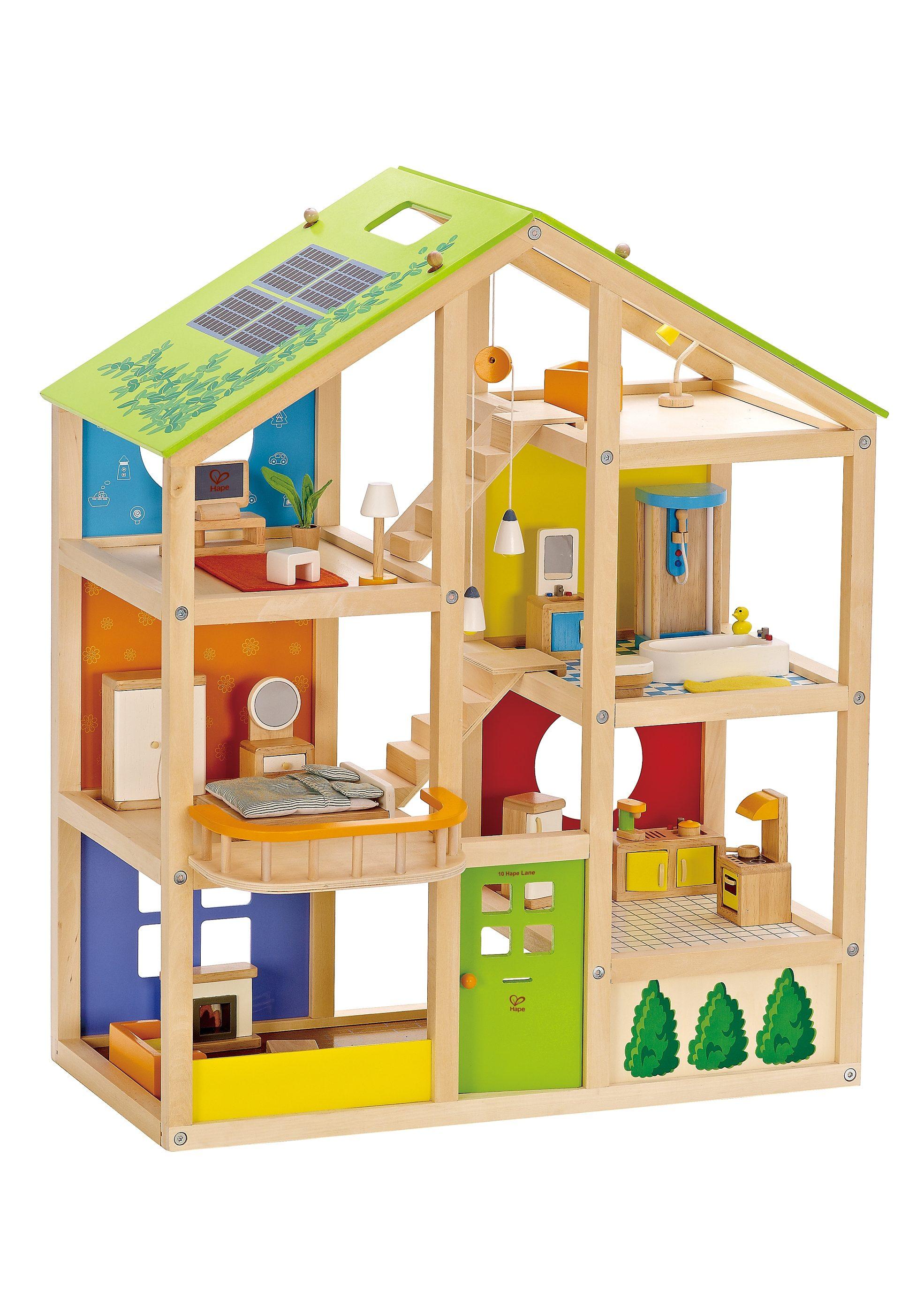Hape Puppenhaus, »Vierjahreszeiten« (35-tlg.)