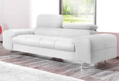 Ledersofa weiß  Sofa in weiß online kaufen | OTTO