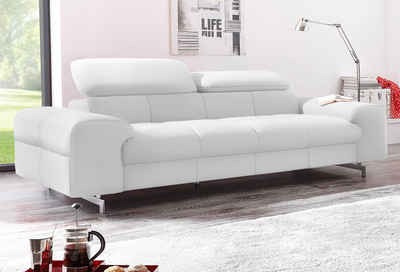 wei es ledersofa m belideen. Black Bedroom Furniture Sets. Home Design Ideas