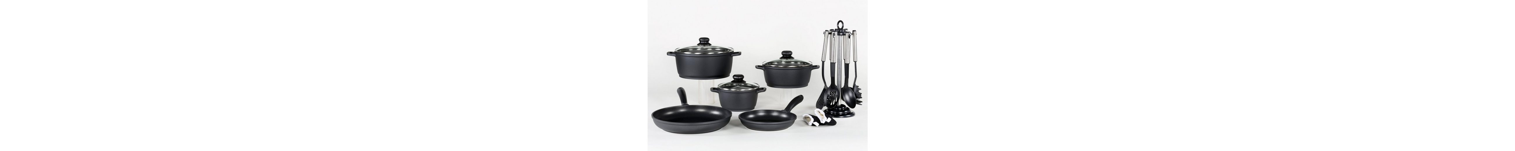 Aluguss-Kochserie 15-teilig, Krüger