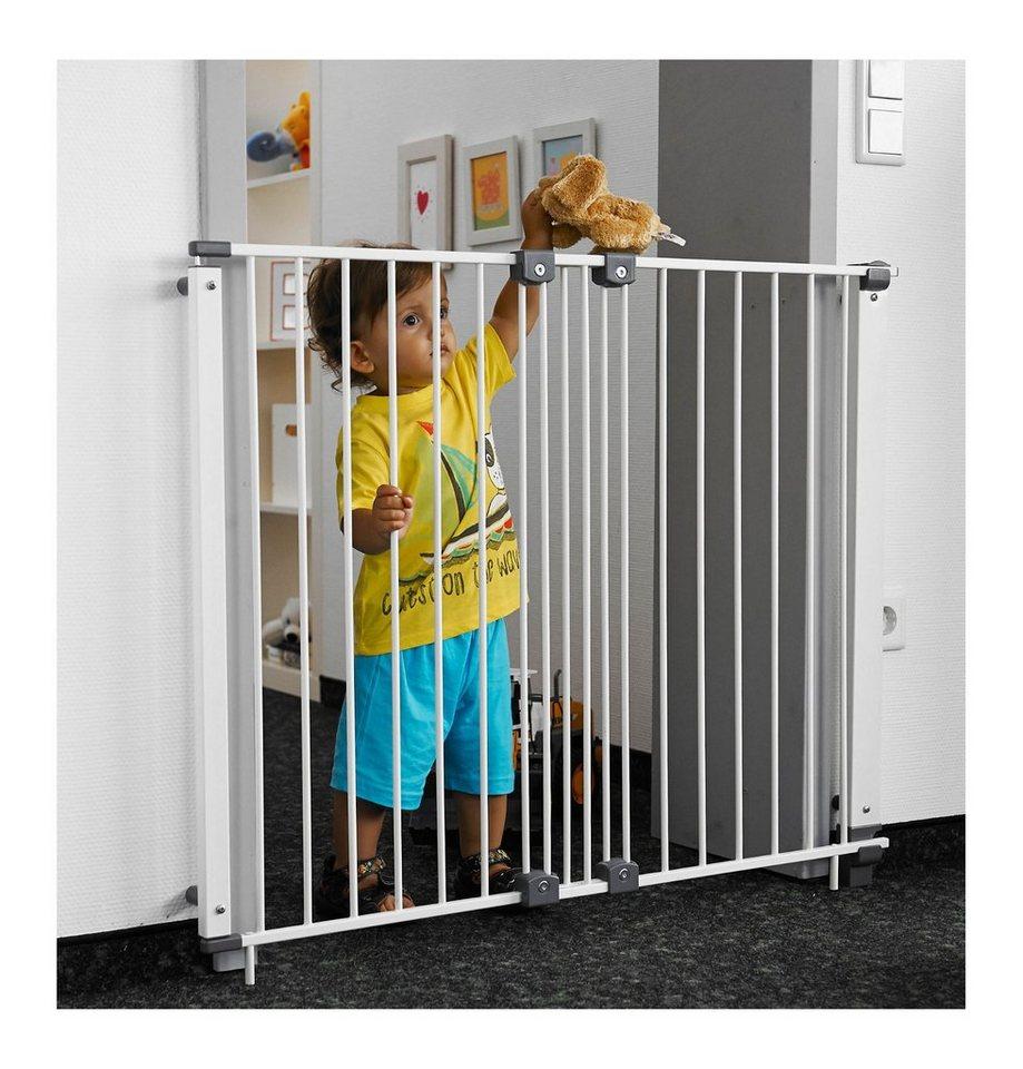 geuther schwenk schutzgitter purelock 61 107cm metal wei online kaufen otto. Black Bedroom Furniture Sets. Home Design Ideas