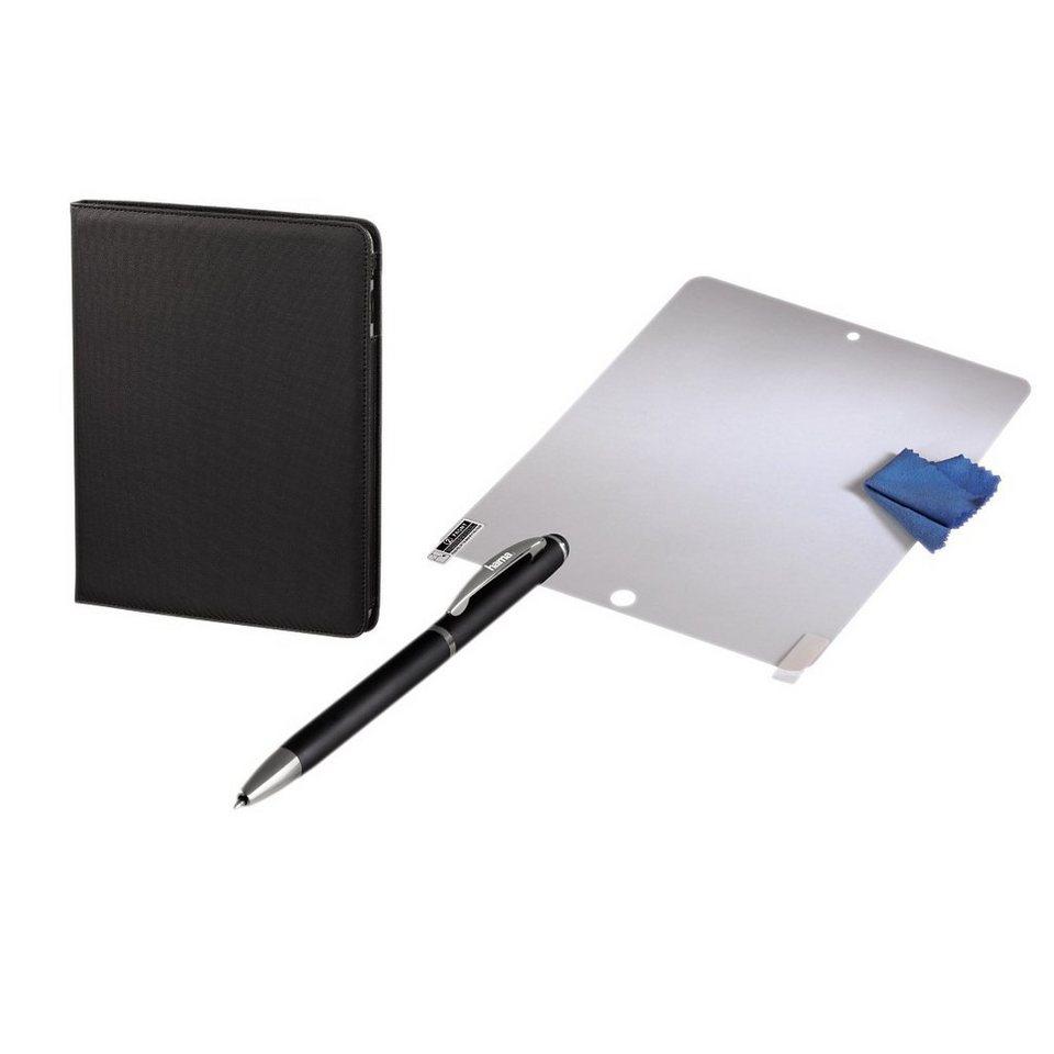 Hama 3in1-Starter-Kit für Apple iPad Air in Schwarz
