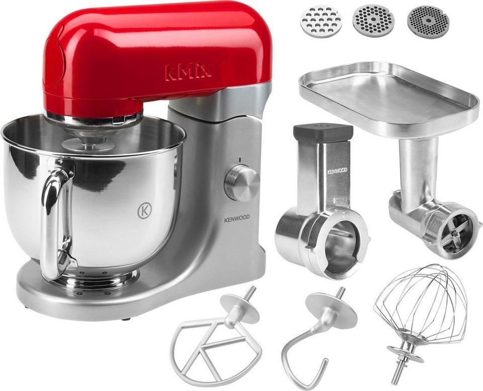 Kenwood Küchenmaschine »kMix KMX61«, 5 Liter, inkl. Sonderzubehör im Wert von ca. 200€ in rot/silber