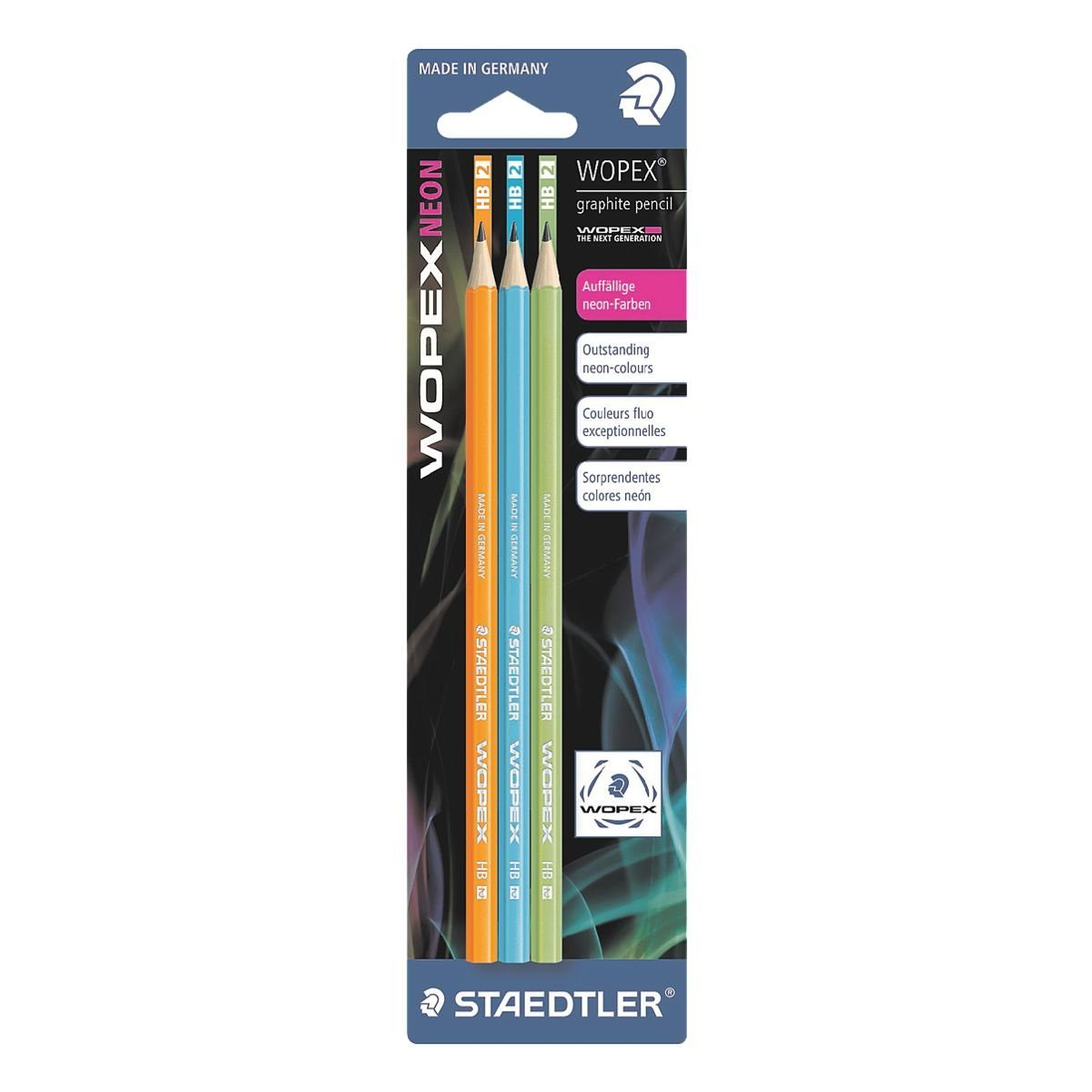Staedtler 3er-Pack Bleistifte »Wopex«