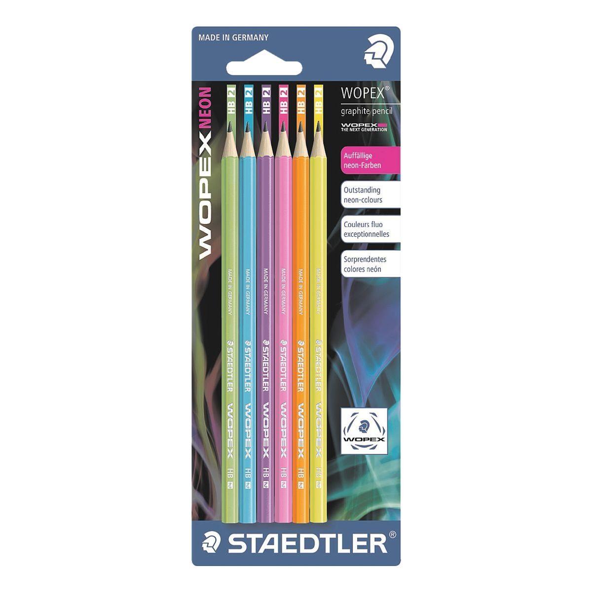 Staedtler 6er-Pack Bleistifte »Wopex«