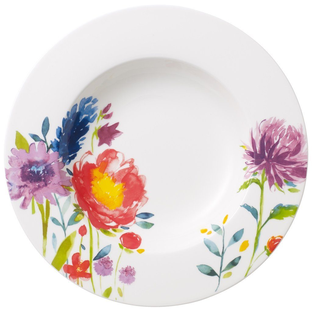 Villeroy & Boch Suppenteller »Anmut Flowers«