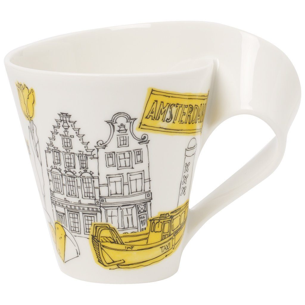 Villeroy & Boch Becher mit Henkel Amsterdam »Cities of the World«