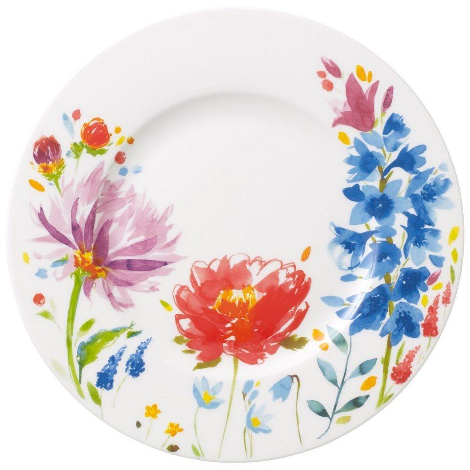 VILLEROY & BOCH Becher mit Henkel »Anmut Flowers« in Dekoriert