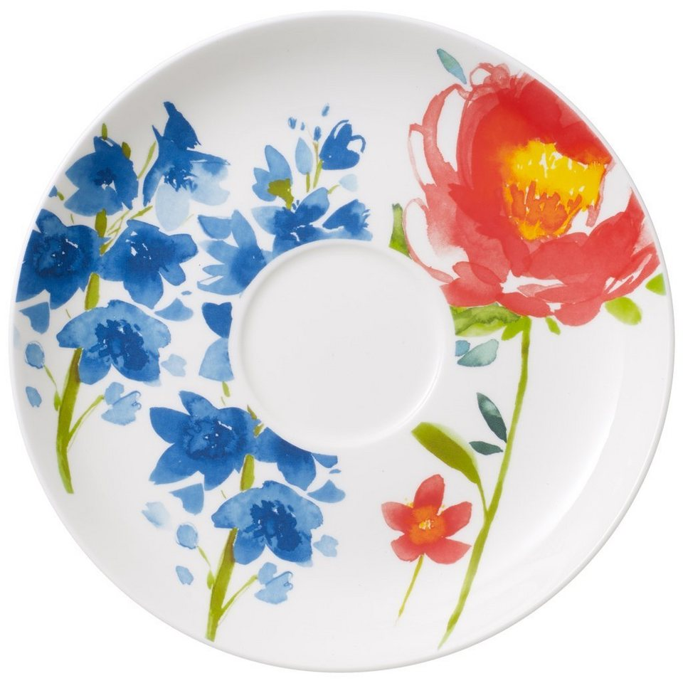 VILLEROY & BOCH Frühstücksuntertasse »Anmut Flowers« in Dekoriert