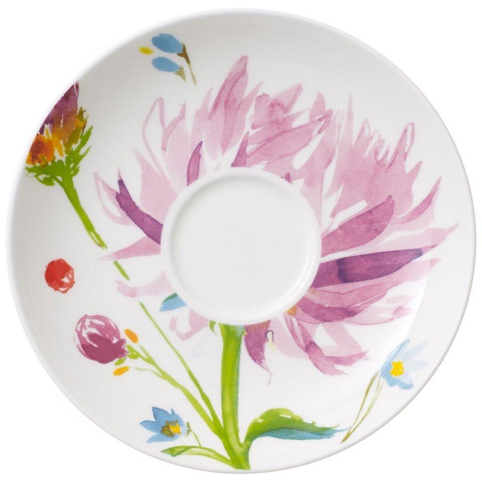 VILLEROY & BOCH Kaffeeuntertasse »Anmut Flowers« in Dekoriert