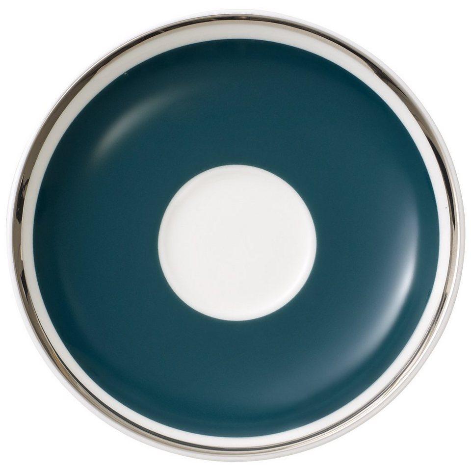 VILLEROY & BOCH Mokka-/Espressountertasse »Anmut My Colour Emerald Green« in Dekoriert