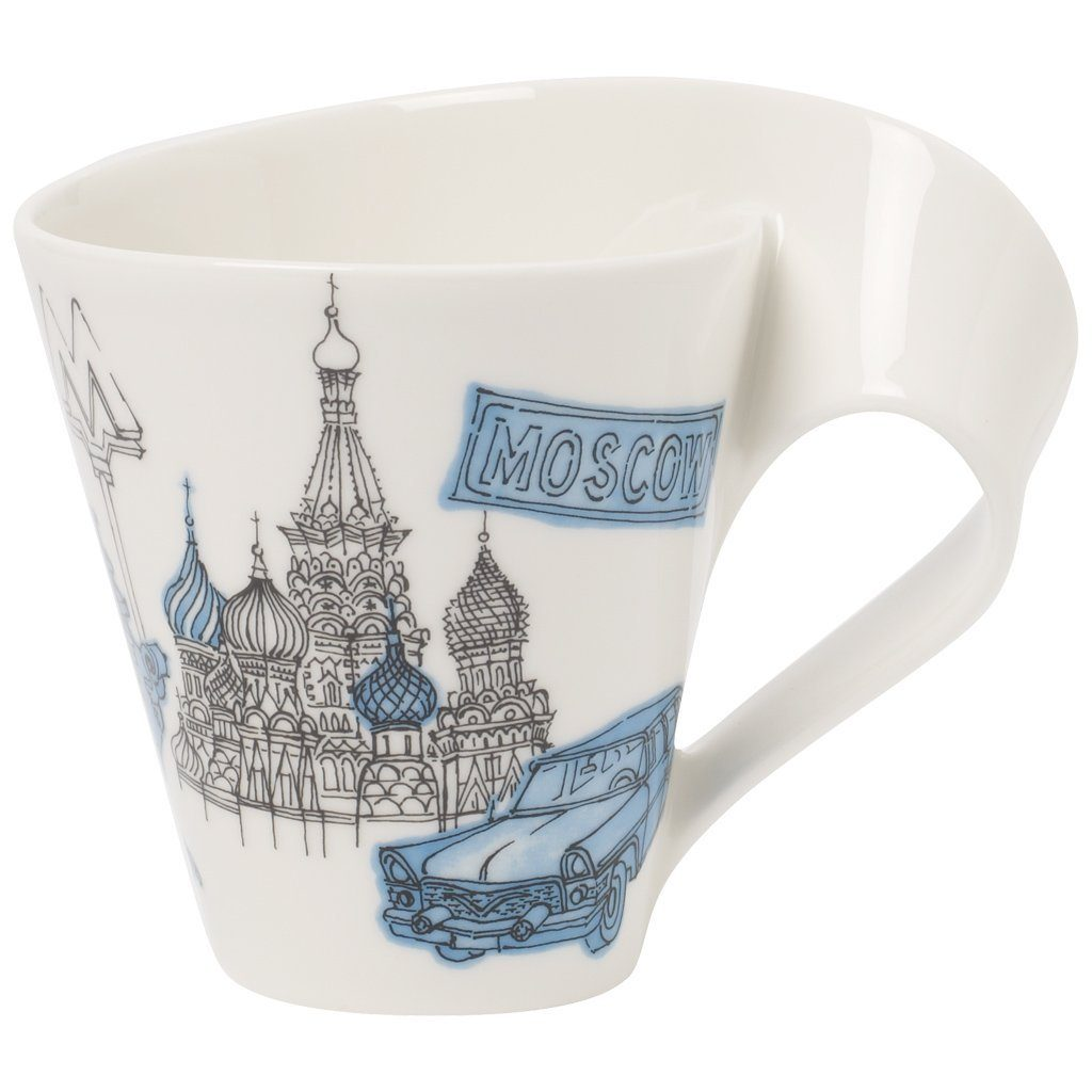 Villeroy & Boch Becher mit Henkel Moscow »Cities of the World«