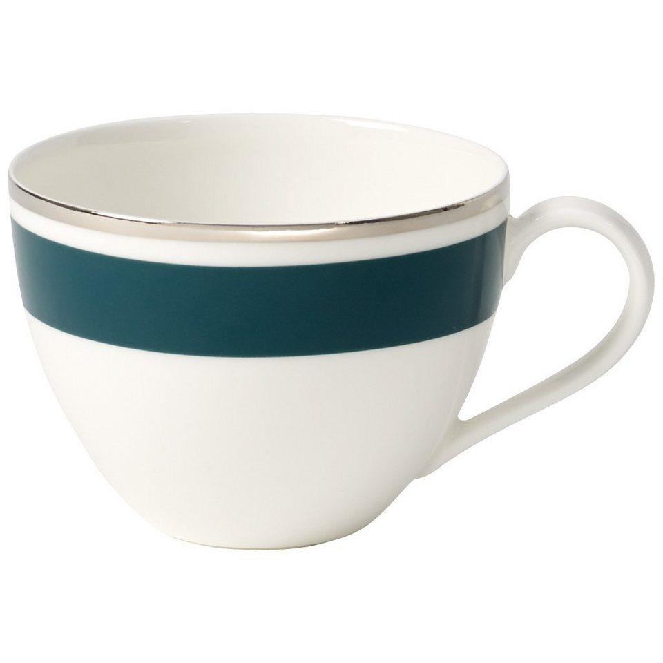 VILLEROY & BOCH Kaffeeobertasse »Anmut My Colour Emerald Green« in Dekoriert