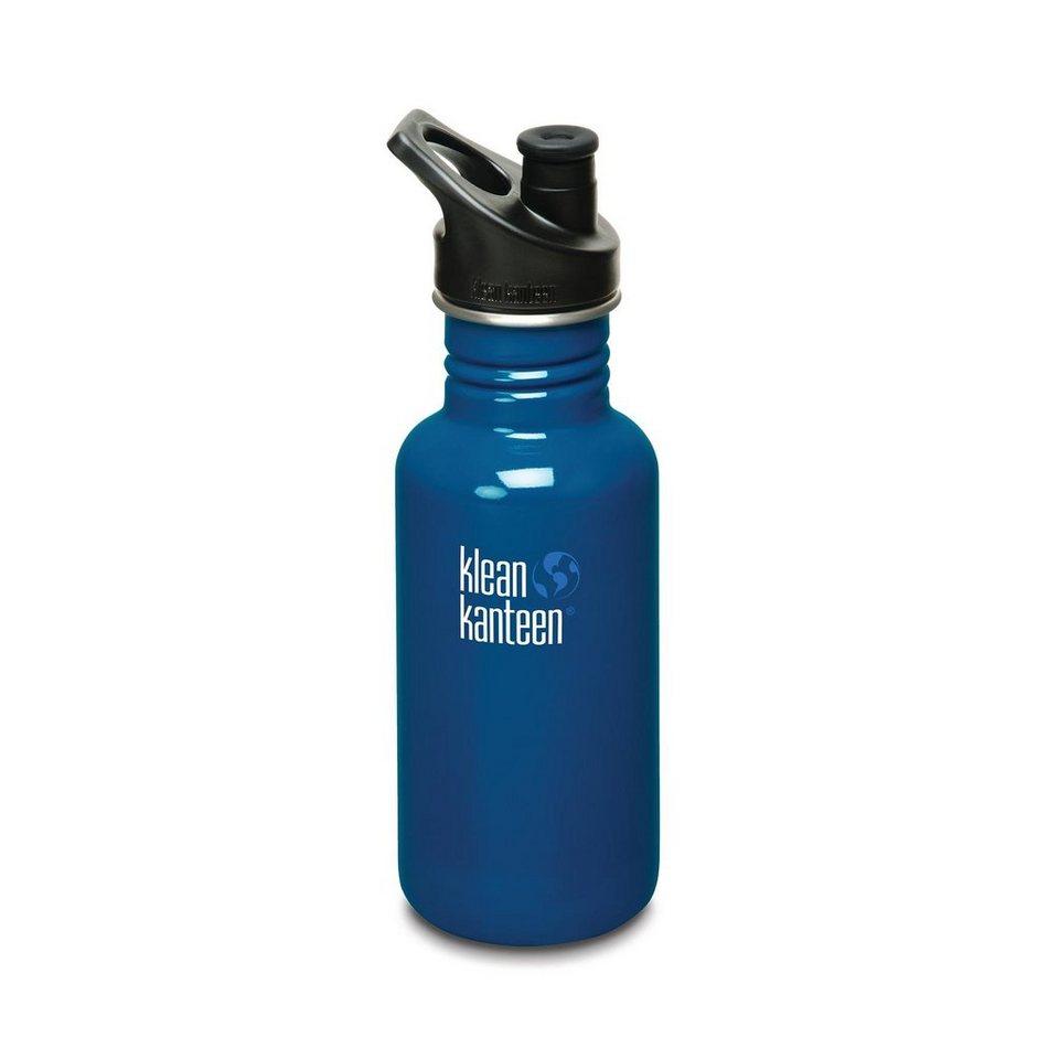 Klean Kanteen Trinkflasche »Classic Trinkflasche mit Sport Cap 532ml«