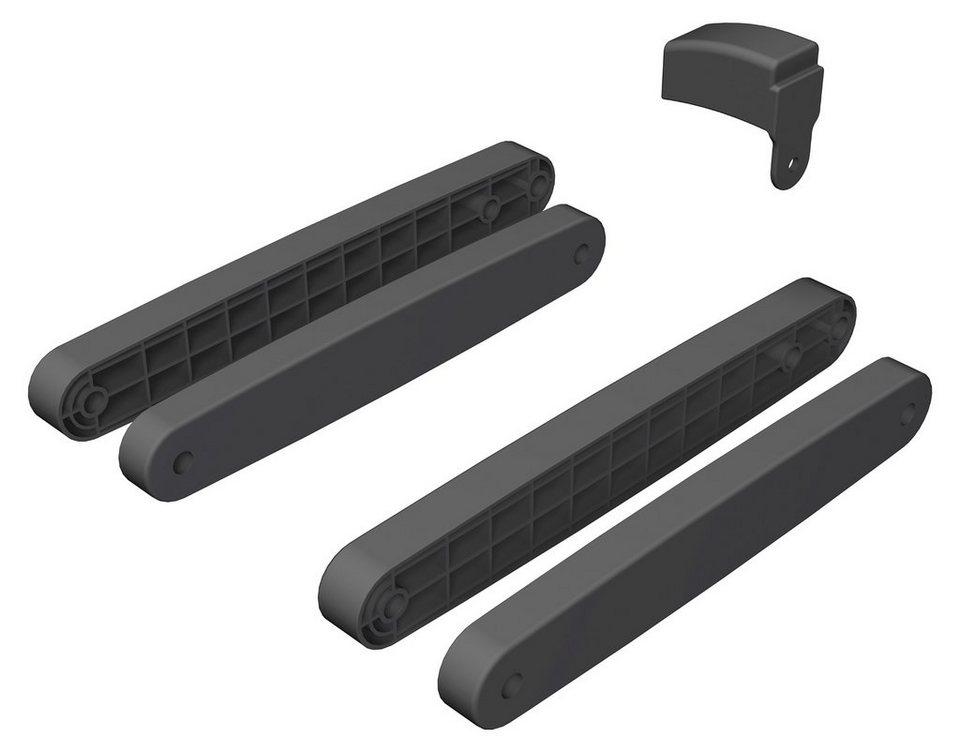 Geuther Zusatzklemmen für Schutzgitter Purelock in schwarz