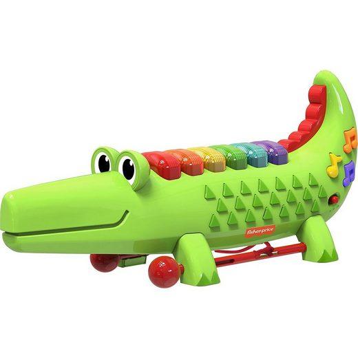 Mattel® Xylophon »Fisher Price Crocodile Xylophone«
