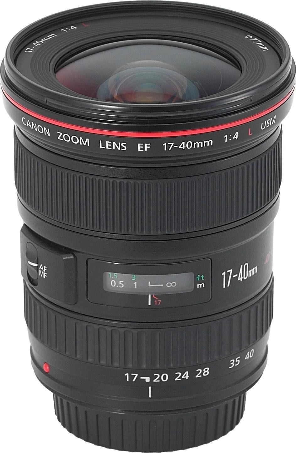 Canon EF 17-40mm f/4L USM Superweitwinkel Objektiv