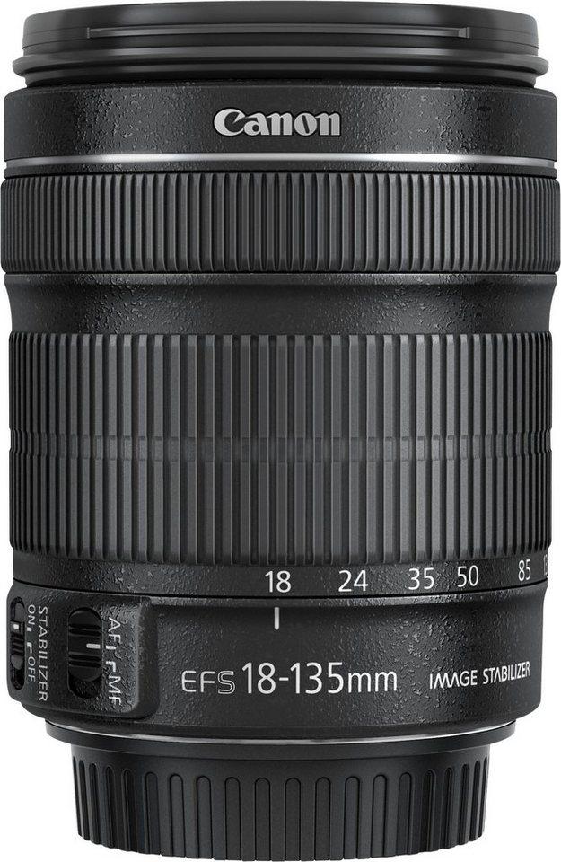 Canon EF-S 18-135mm 1:3,5-5,6 IS STM Objektiv in Schwarz