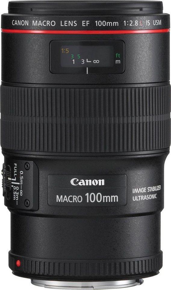 Canon EF 100mm f/2.8 Macro USM Makro Objektiv in schwarz