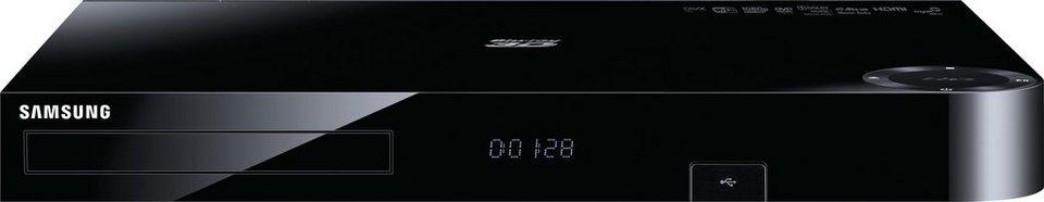 Samsung BD-H8500/EN HD-Recorder, DVB-T/-C Twin Tuner, 500 GB, 3D-fähig WLAN in Schwarz