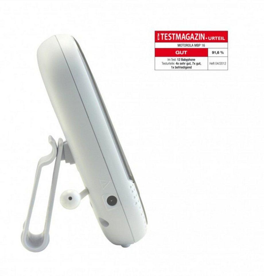 Motorola Babyphone »Babyphone MBP16« in Weiß