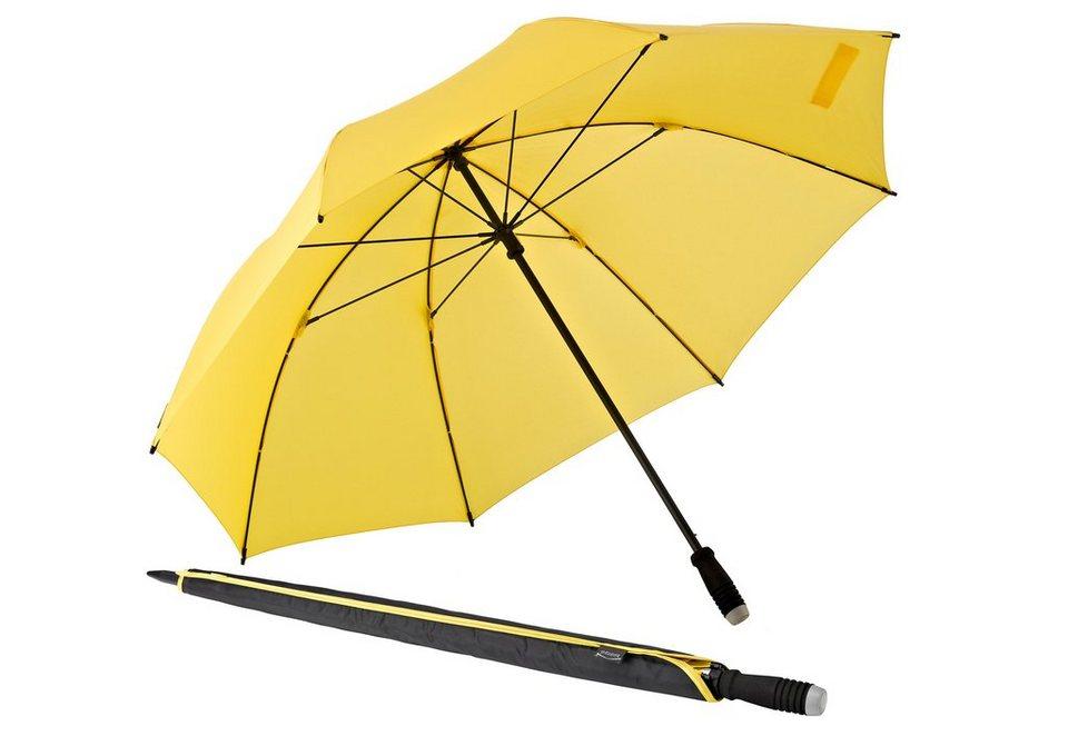 Euroschirm® Regenschirm Golfschirm, »birdiepal® compact« in gelb
