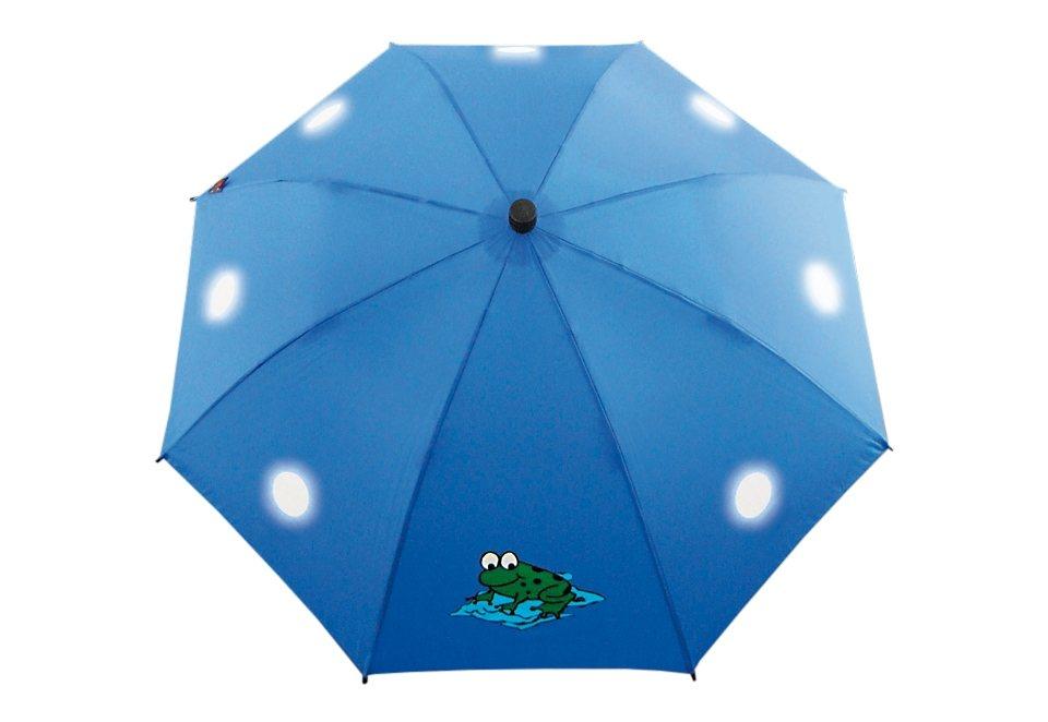 Euroschirm® Regenschirm für Kinder, »Swing liteflex kids« in blau