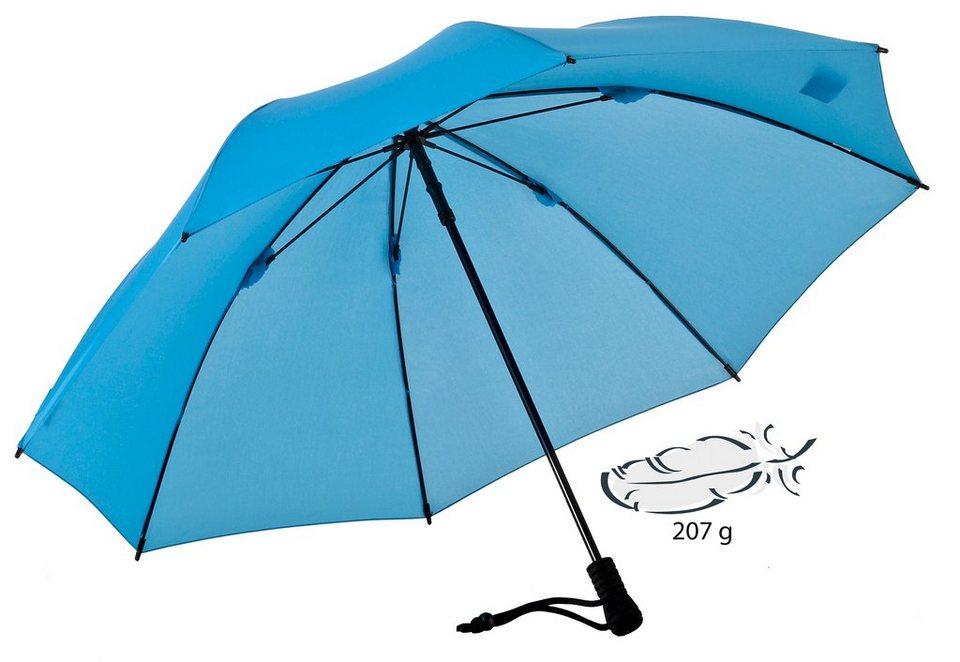 Euroschirm® Regenschirm, »Swing liteflex« in hellblau