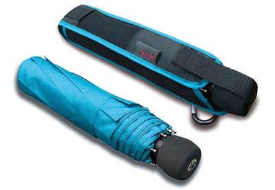 Euroschirm Taschenregenschirm »light trek«, mit integriertem Kompass, in verschiedenen Farben
