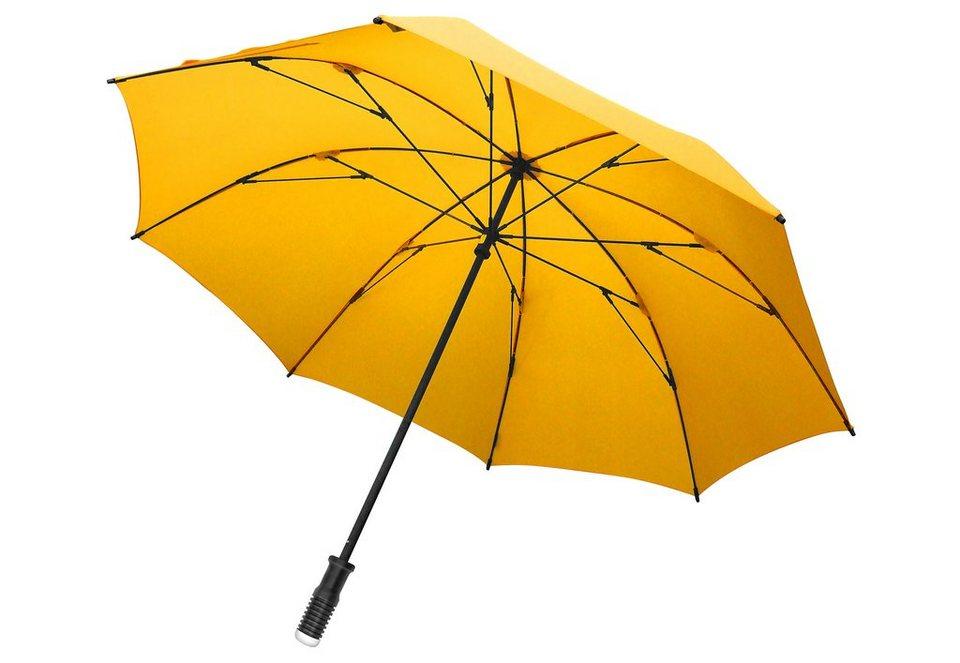 Euroschirm® Regenschirm Golfschirm, »birdiepal® windflex« in gelb