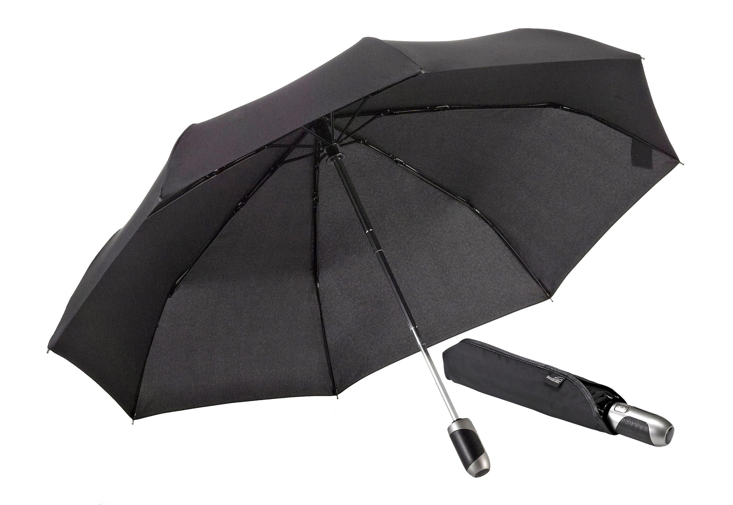 Euroschirm® Regenschirm mit Elchleder, »One For All - Elchleder-Taschenschirm«