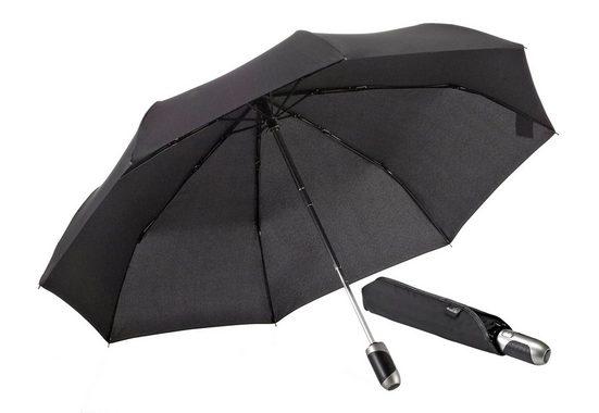 Euroschirm Taschenregenschirm »One For All«, mit Elchleder