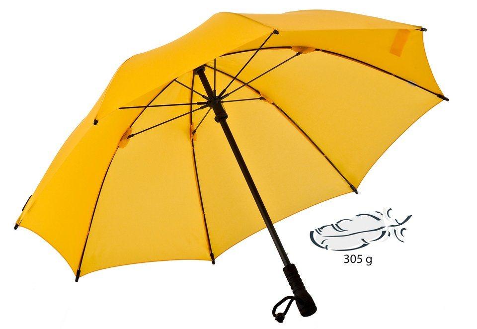 Euroschirm® Regenschirm, »Swing Trekkingschirm« in gelb