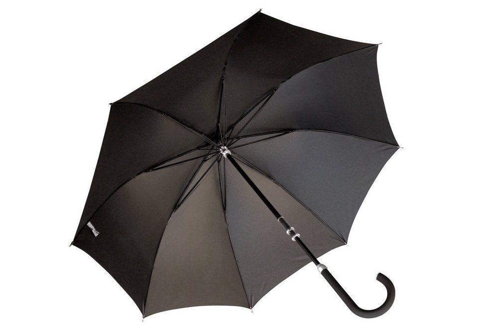 Euroschirm® Regenschirm für Herren, »Herren-Stockschirm Kompliment®« in schwarz