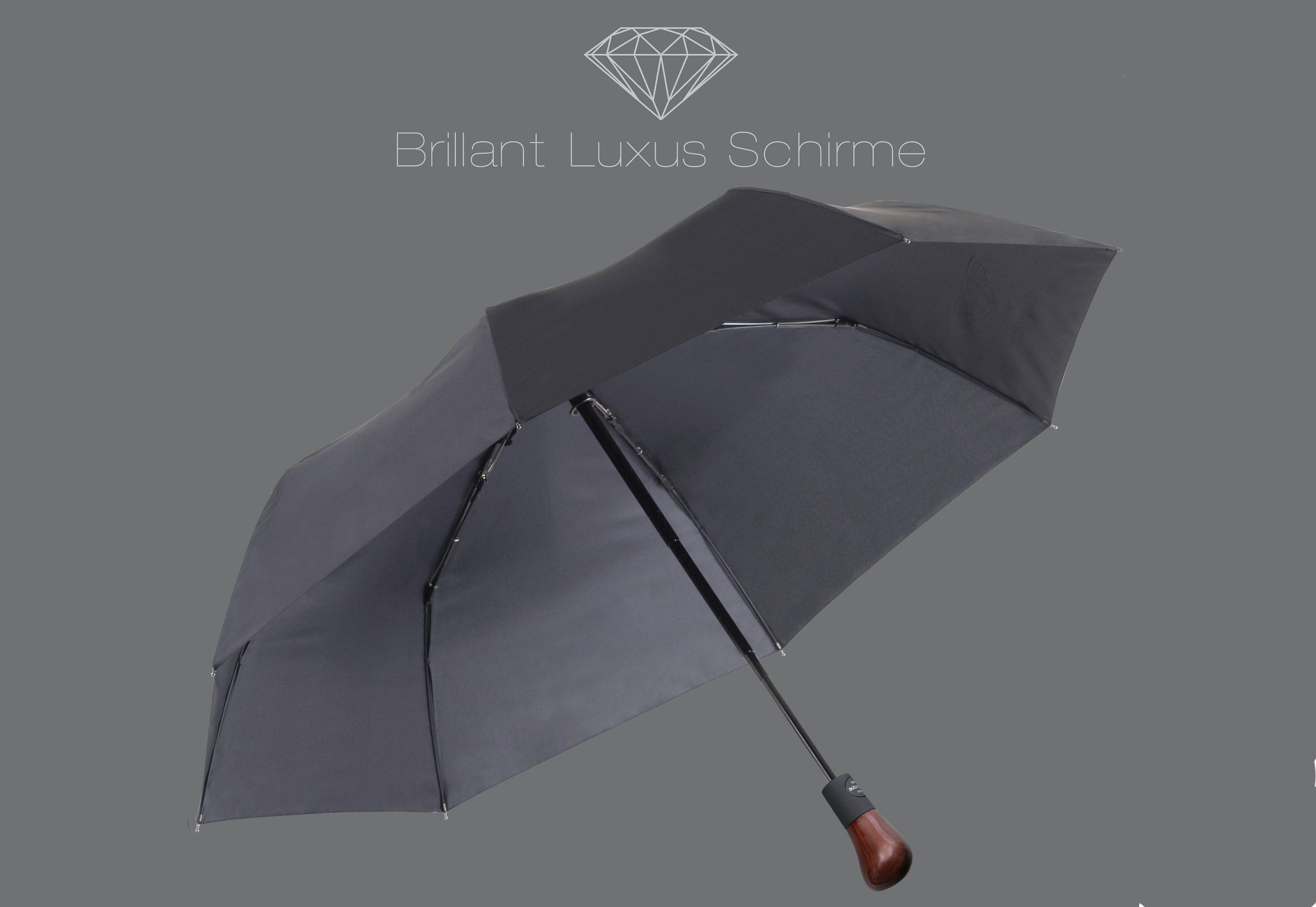 Euroschirm® Regenschirm, »Brillant Luxus Taschenschirm«