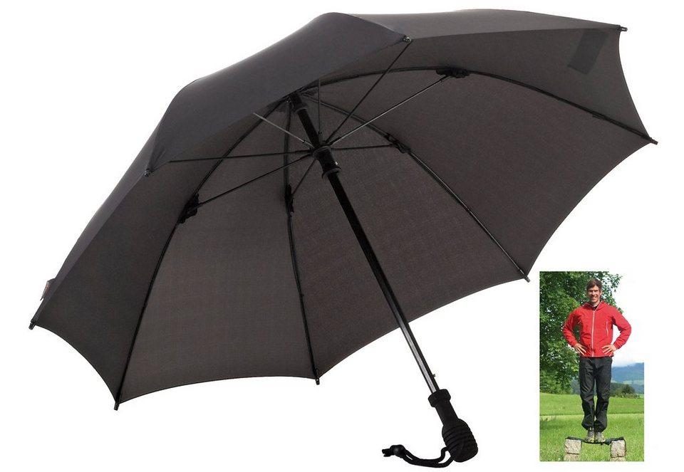 Euroschirm® Regenschirm, »birdiepal® octagon Trekkingschirm« in schwarz